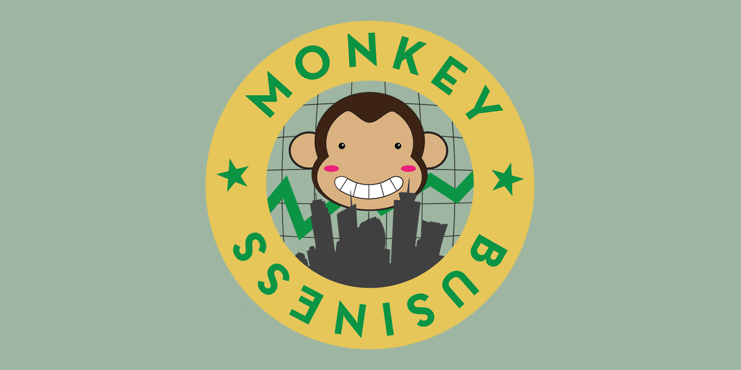 Monkey Business, an electronic ring toss game about ruthless capitalism (2013)