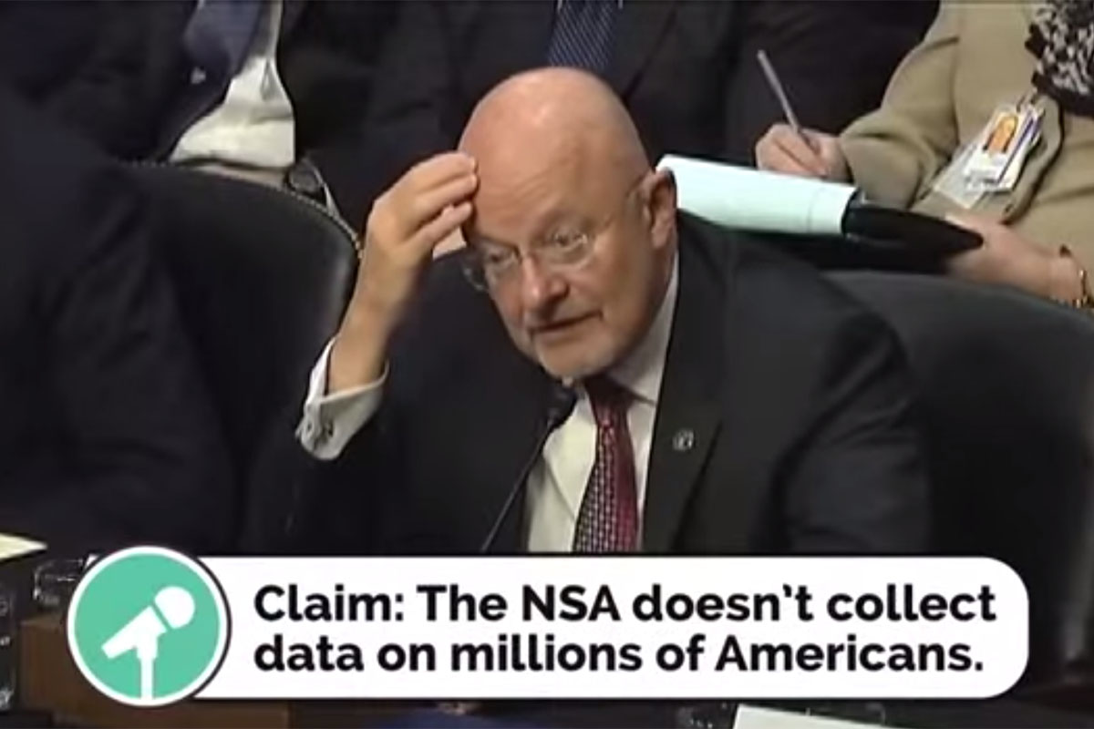 Has the Government Lied on Snooping?